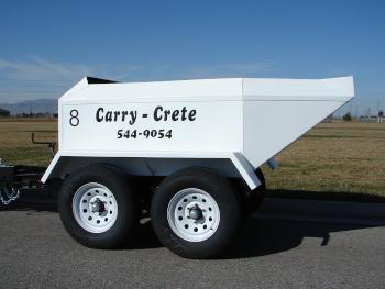 Carry Crete - Trailer Haul Ready Mix